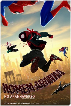 Homem-Aranha no Aranhaverso Torrent Dublado (2019) BluRay 720p | 1080p Dual Áudio