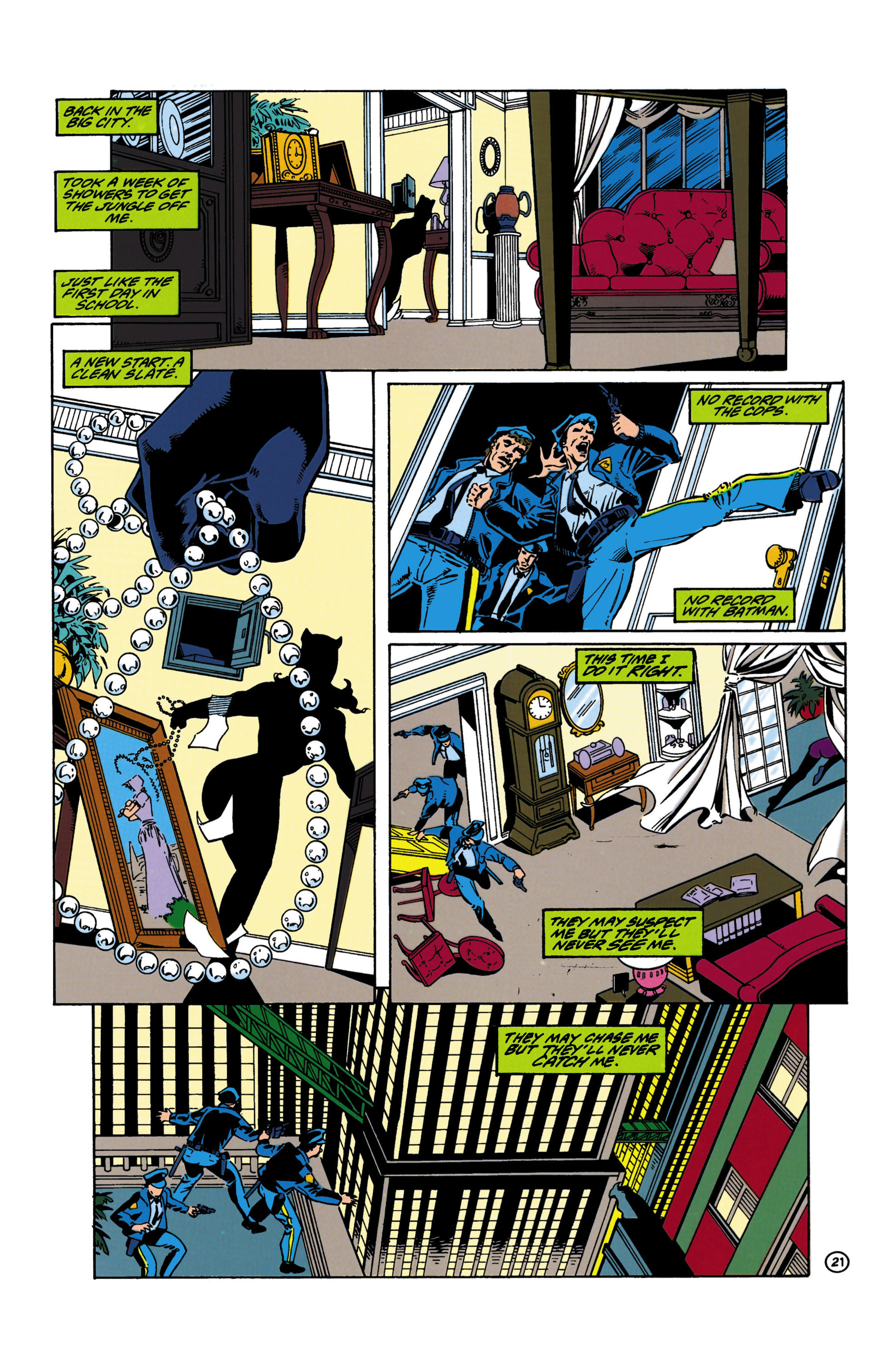 Catwoman (1993) Issue #19 #24 - English 21