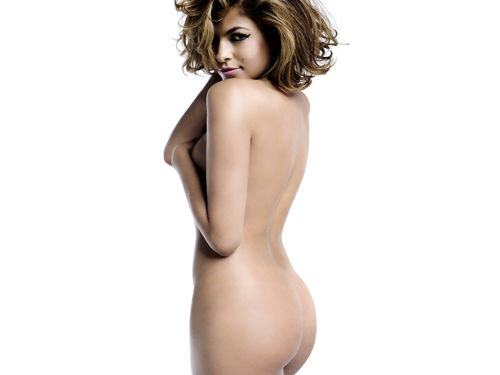 Eva Mendes Topless Photo
