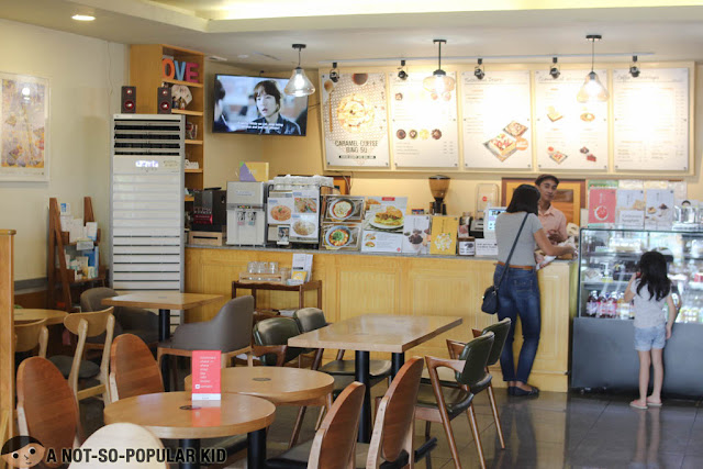 Interior of Cafe Seol Hwa in BF Homes