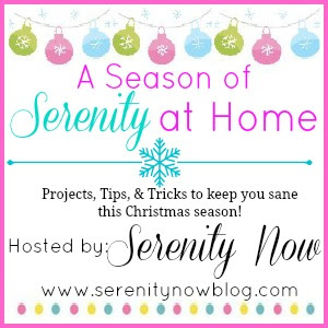 A Season of Serenity at Home {Christmas series & inspiration} at Serenity Now