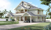 Double Floor Home Design Kerala