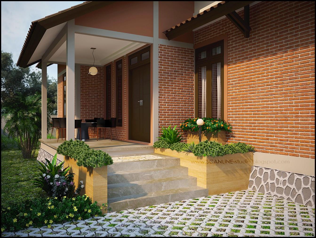 Kumpulan Desain Rumah Minimalis Batu Bata Merah Kumpulan Desain Rumah