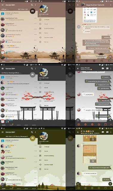 BBM Mod NAF Chat Series v3.2.5.12 Apk