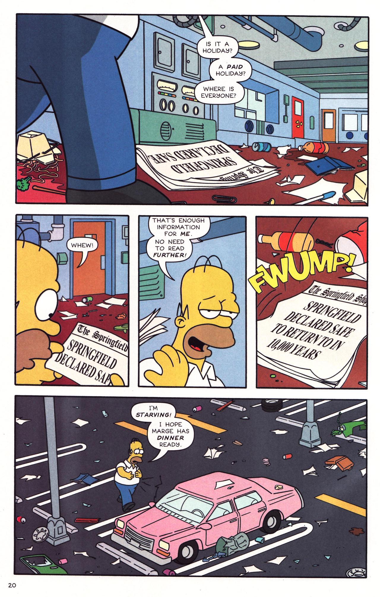 Read online Simpsons Comics comic -  Issue #137 - 17