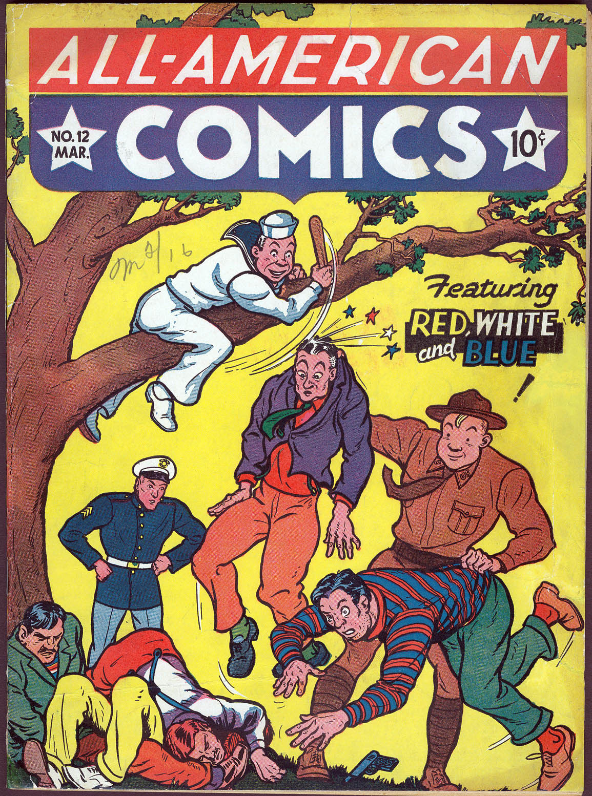 Read online All-American Comics (1939) comic -  Issue #12 - 1