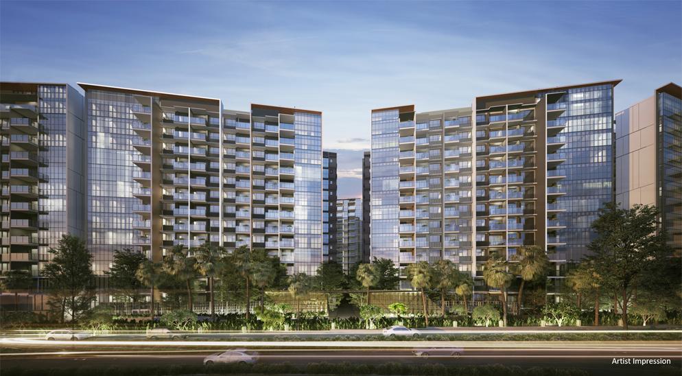 Affinity at Serangoon - Building Facade