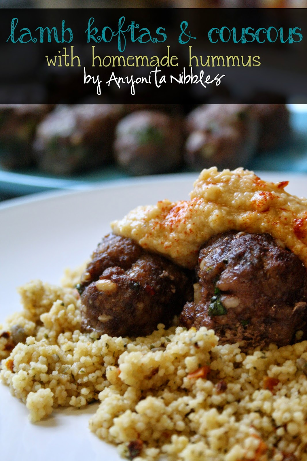 With warm Middle Eastern spices, these lamb koftas are gluten free, hearty & filling. From Anyonita Nibbles
