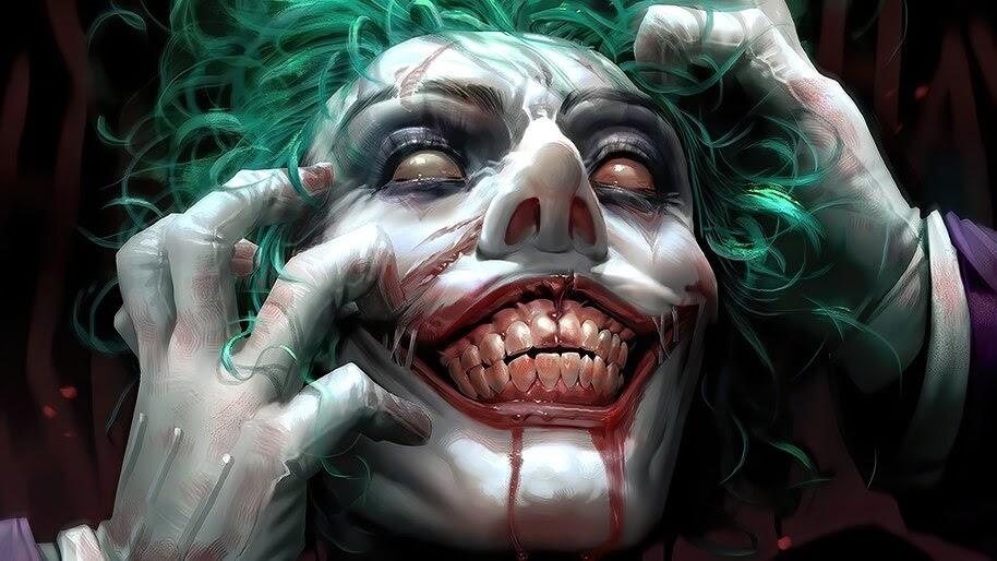 Joker, Smile, DC, Supervillain, 4K, #6.1142