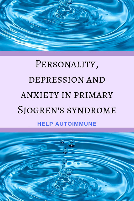 Personality, depression and anxiety in primary Sjogren's syndrome