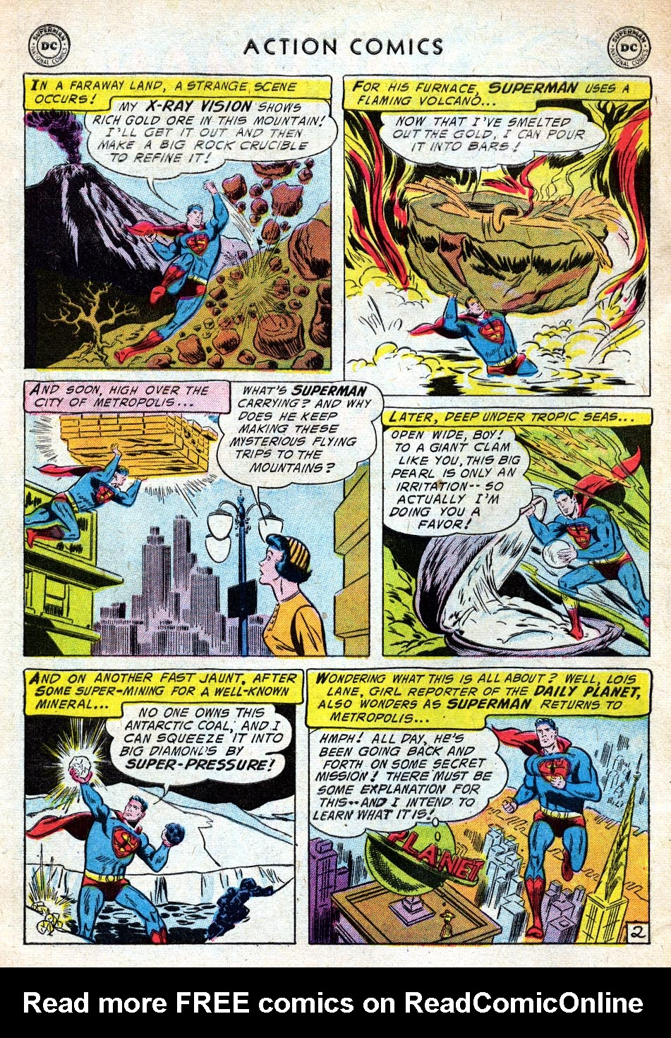 Read online Action Comics (1938) comic -  Issue #219 - 4
