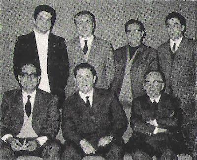 Equipo campeón de la Copa Catalana de Ajedrez 1971