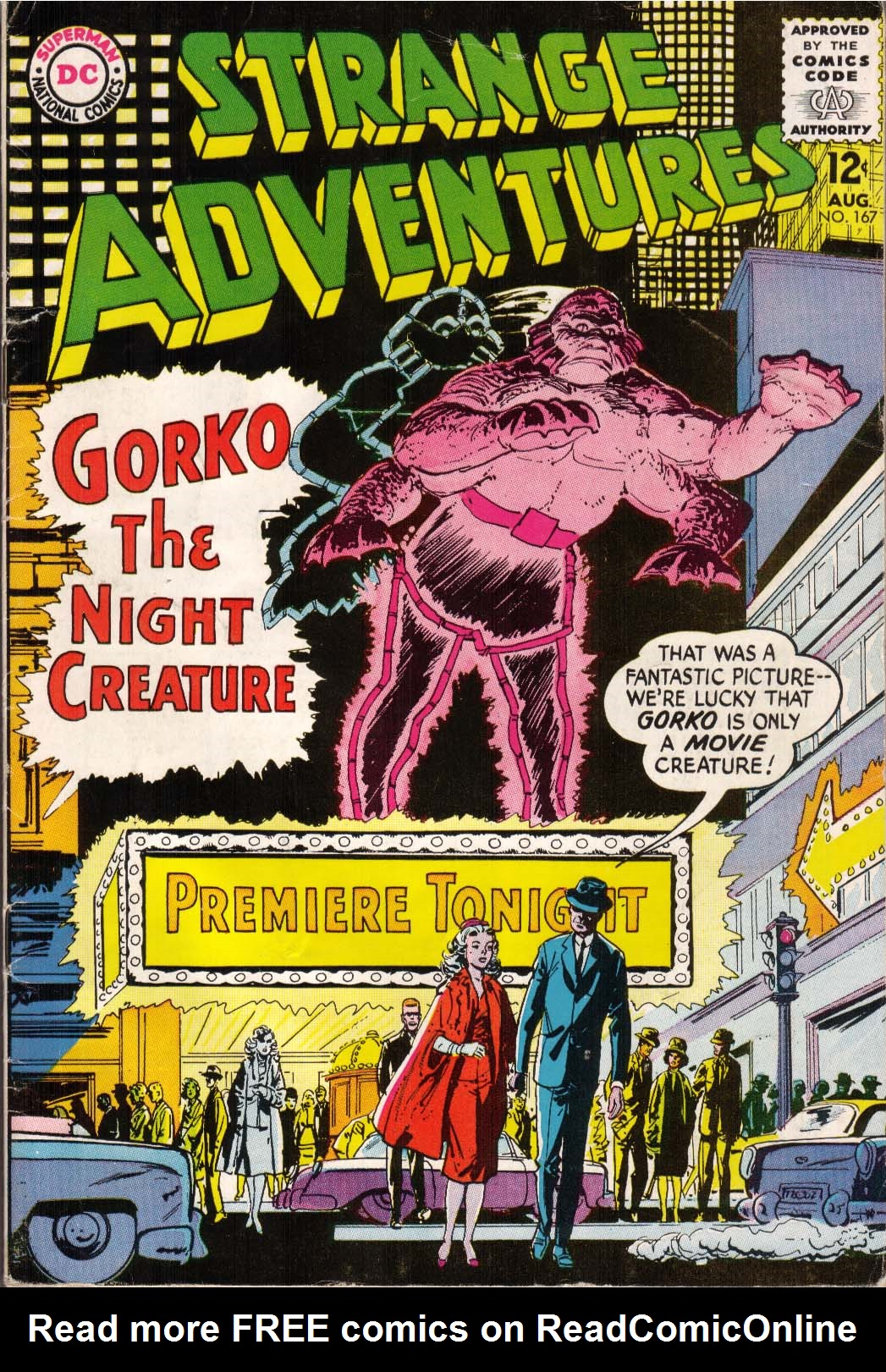 Strange Adventures (1950) issue 167 - Page 1