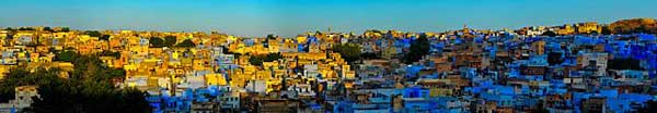 Blue city, Jodhpur-Among top tourist places to visit in Rajasthan
