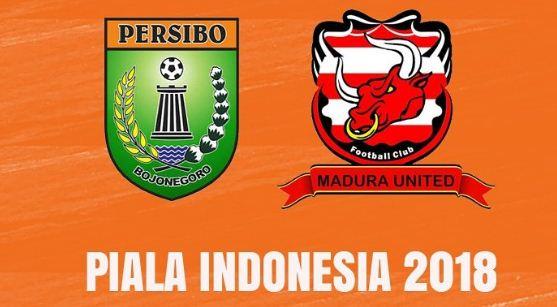 Hasil Skor Persibo Bojonegoro vs Madura United - Piala Indonesia 2018