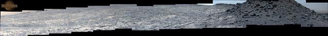 Gigapan Sol 1452 Sol 1454 Curiosity Left Mastcam (M-34) Pahrump Hills