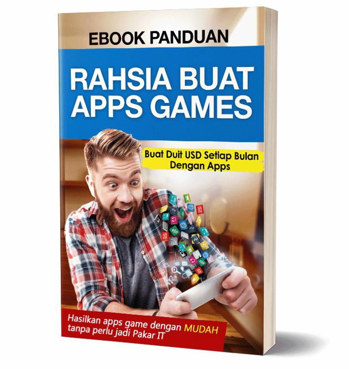 Ebook Panduan Rahsia Buat Apps Game