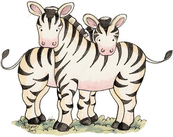 zebras dibujo