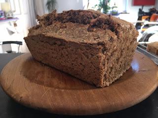 Rye Bread. Wheat, dairy and sugar free