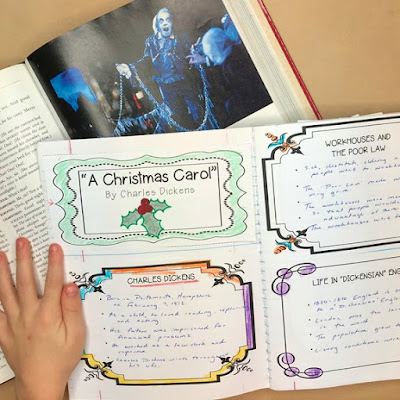 "Lesson plans for ""A Christmas Carol"""