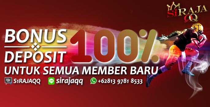 Bonus Welcome 100% Khusus Member Baru!