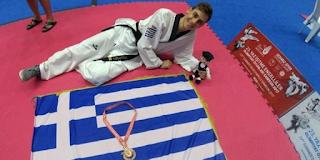 Χρυσός ο Παύλος Λιότσιος στο Παγκόσμιο Πρωτάθλημα Τάε Κβον Ντο κωφών – Ο εθνικός ύμνος ακούστηκε μέσα στην Τουρκία