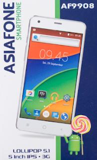 Firmware Asiafone AF9908 tested