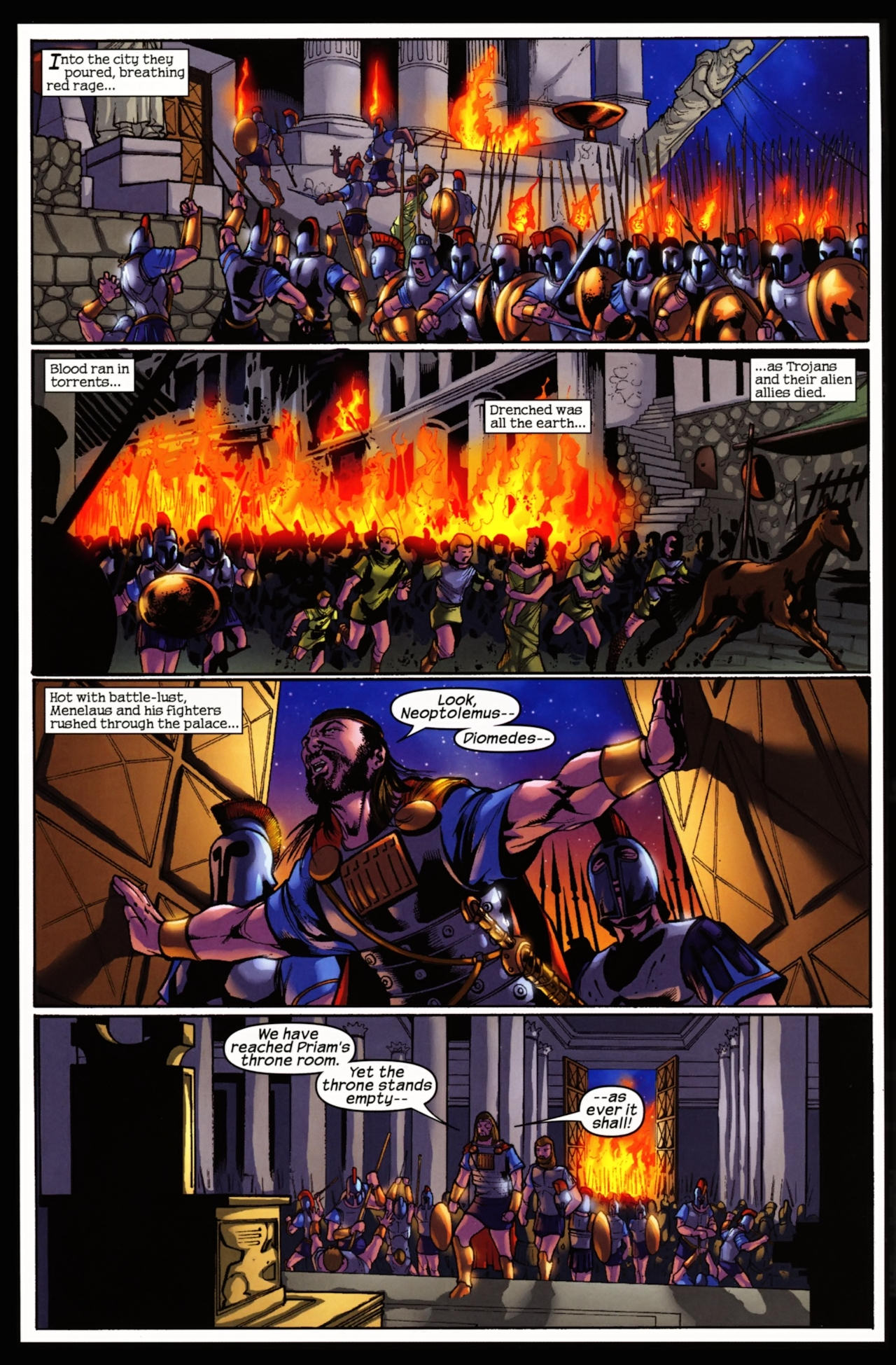 Read online Trojan War comic -  Issue #5 - 10