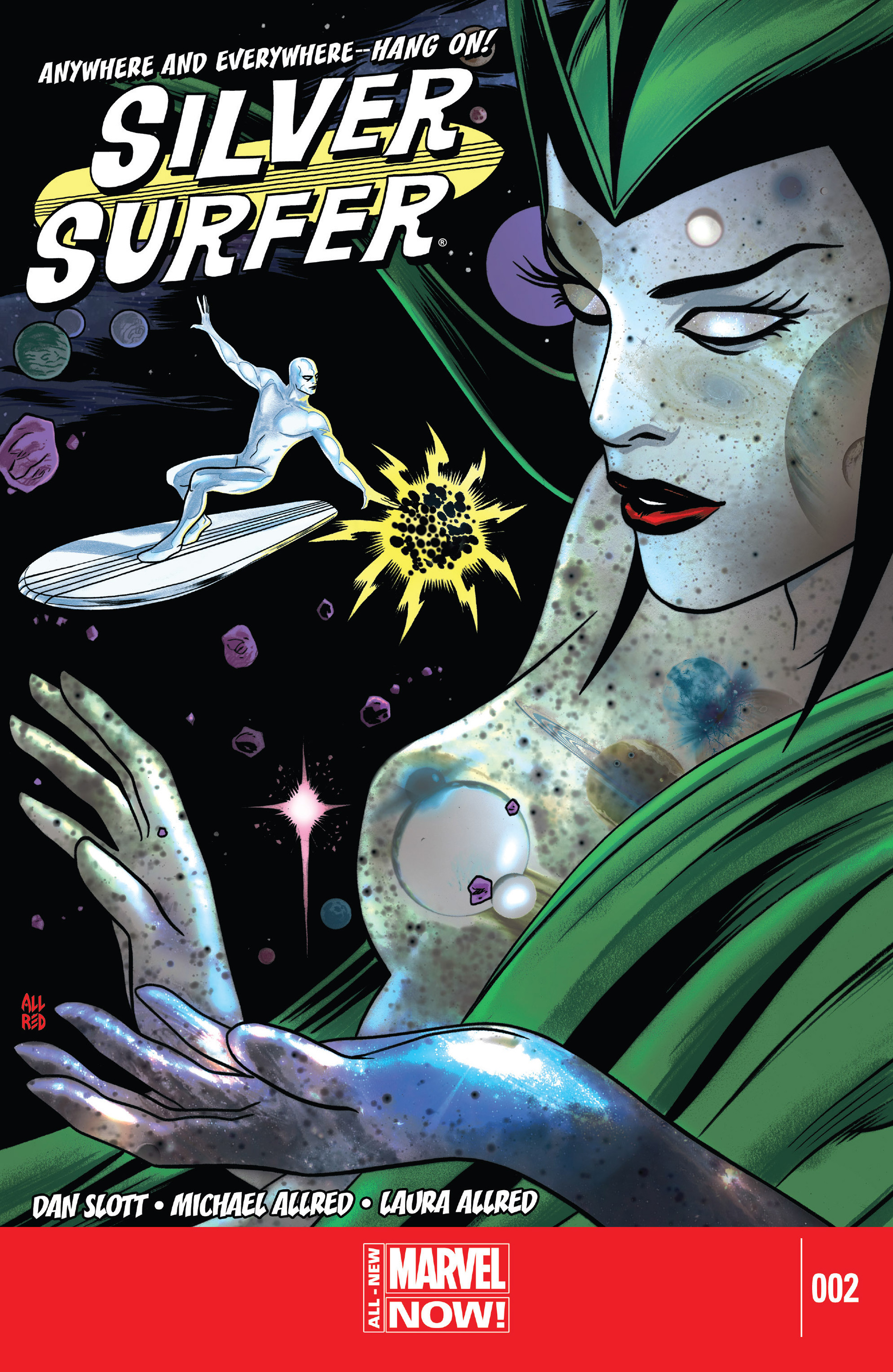Silver Surfer (2014) 2 Page 1