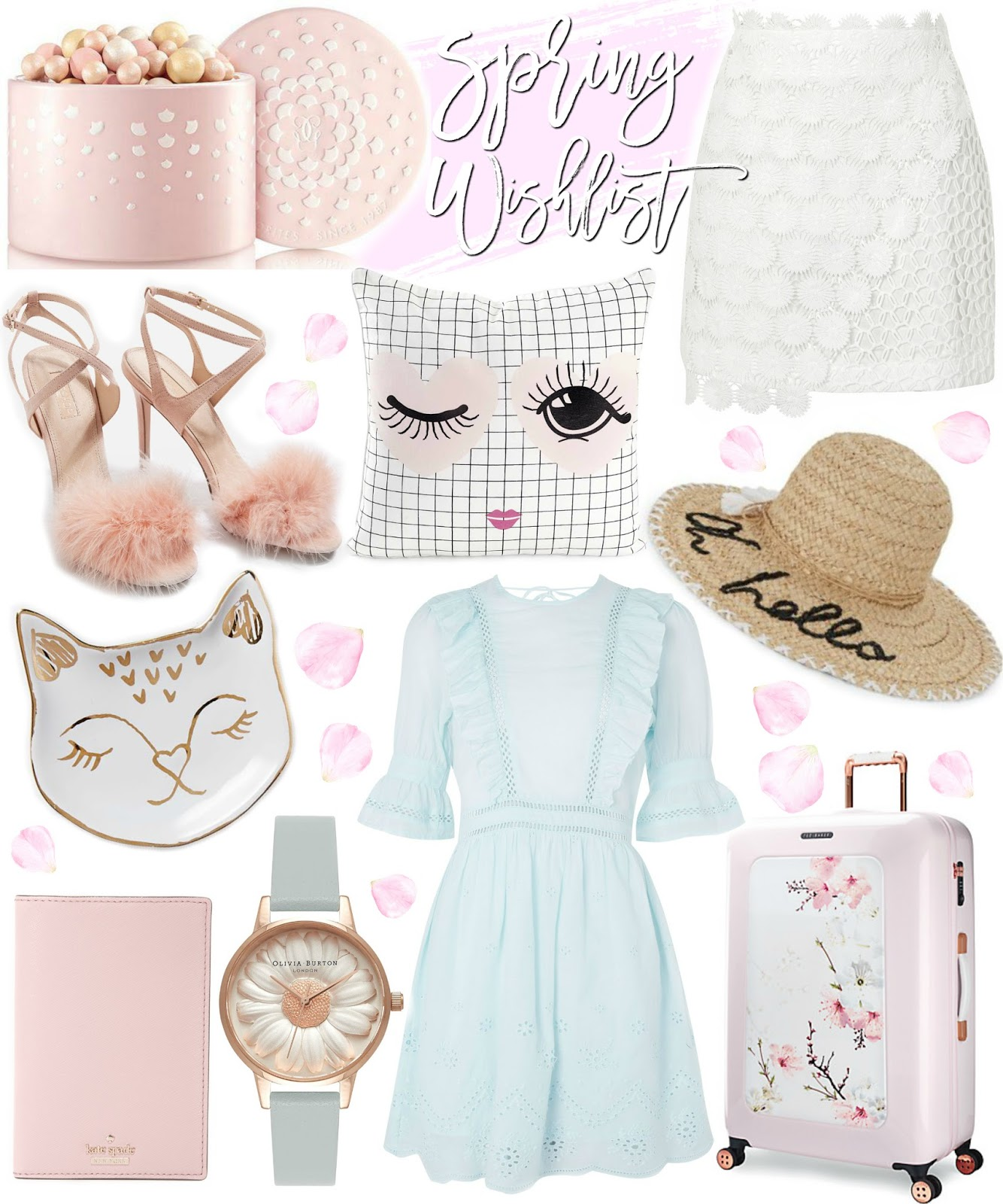 Spring Wishlist, Pretty Pastels | Love, Catherine