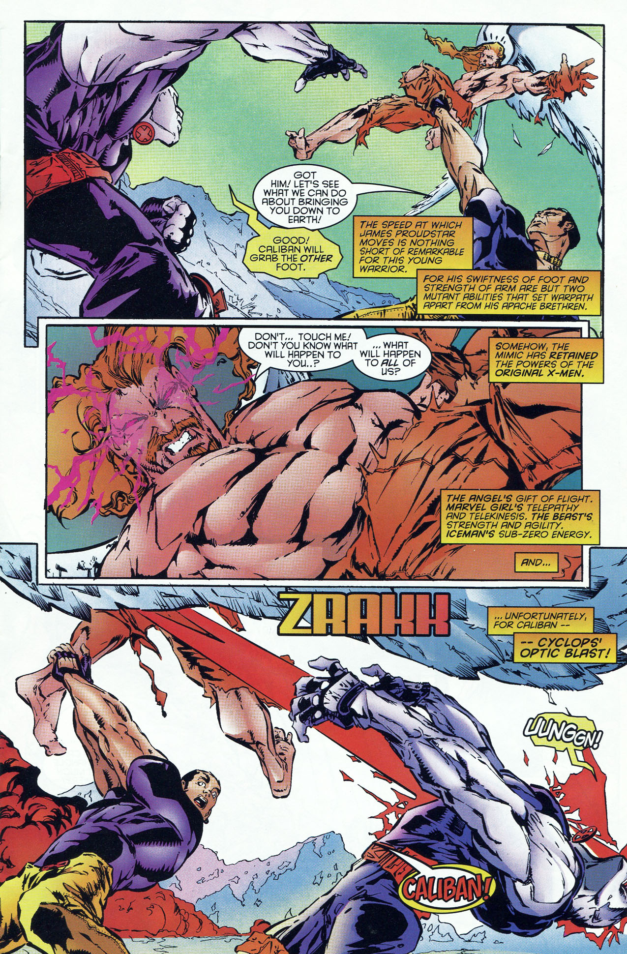 Read online X-Force (1991) comic -  Issue #46 - 8