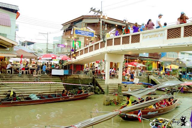 好好吃的周邊市集!到泰國安帕瓦別只逛水上市場 - 跟著不羈去旅行