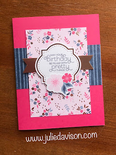 5 Cards, 1 Layout -- Stampin' Up! Everything is Rosy ~ www.juliedavison.com
