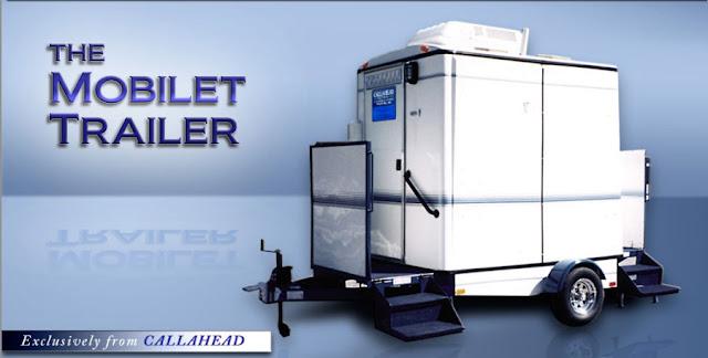 The Mobilet Mobile Restroom Trailer