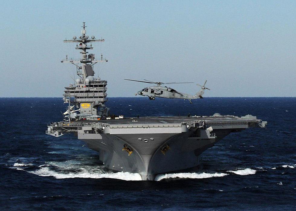 Koide9enisrael un porte avions g ant de l 39 arm e am ricaine arrivera le 1er juillet ha fa - Nouveau porte avion americain ...