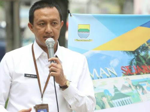 Kepala Bagian Humas Kota Bandung Yayan A Brillyana