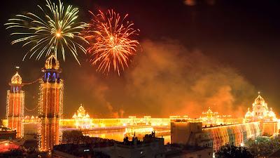 Diwali Celebration Images in Hindi