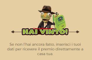Logo Anche Promo€Risparmio vince uno Zainetto Carletto L'Avventuriero