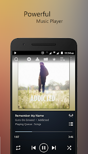 PowerAudio Plus Music Player v7.0.5 [Paid] APK [Latest]