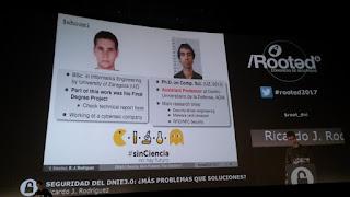 RootedCon 2017 - Ricardo J. Rodriguez y Victor Sánchez - DNI 3.0