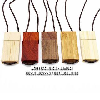 usb flashdisk kayu model tali / tambang