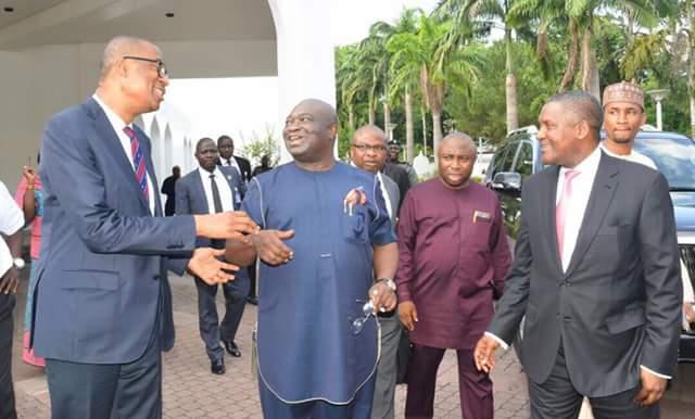 Ikpeazu meets Osinbajo over development of SME in Aba