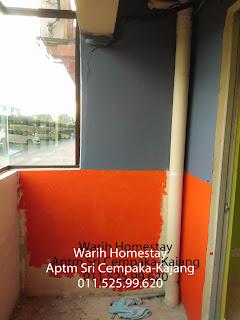 Warih-Homestay-Separuh-Jalan-Mengecat