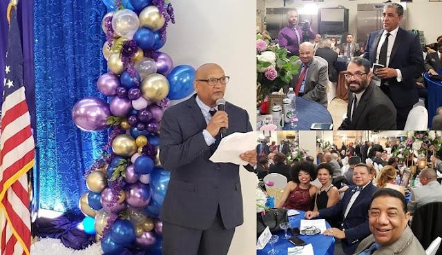 NUEVA YORK.- Cientos de personas asistieron el pasado sábado a la Cena Gala que el Centro Cultural Deportivo Dominicano USA (CCDDUSA) ofreció con motivo de sus 53 años de existencia al servicio de la comunidad.