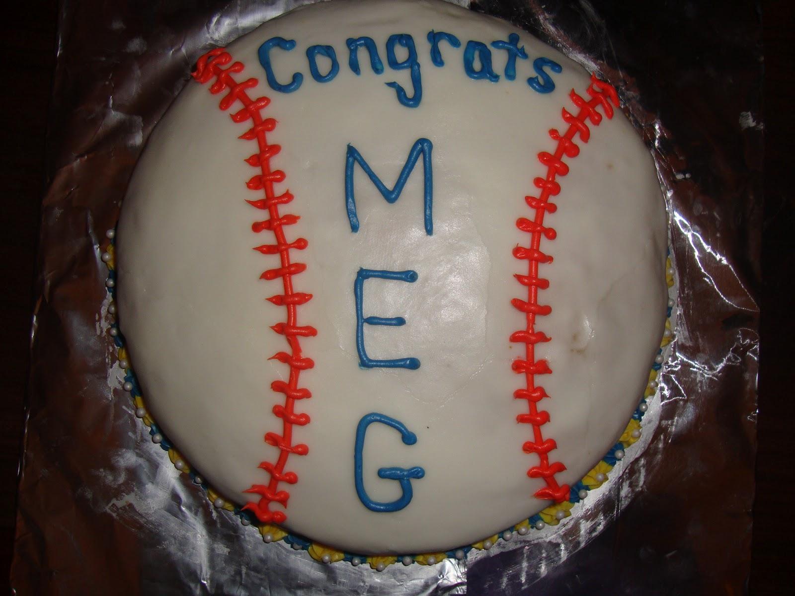 Mother Daughter Dinner Dessert Softball Cake