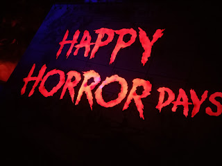 Instead of happy holiday, they give us happy horror days