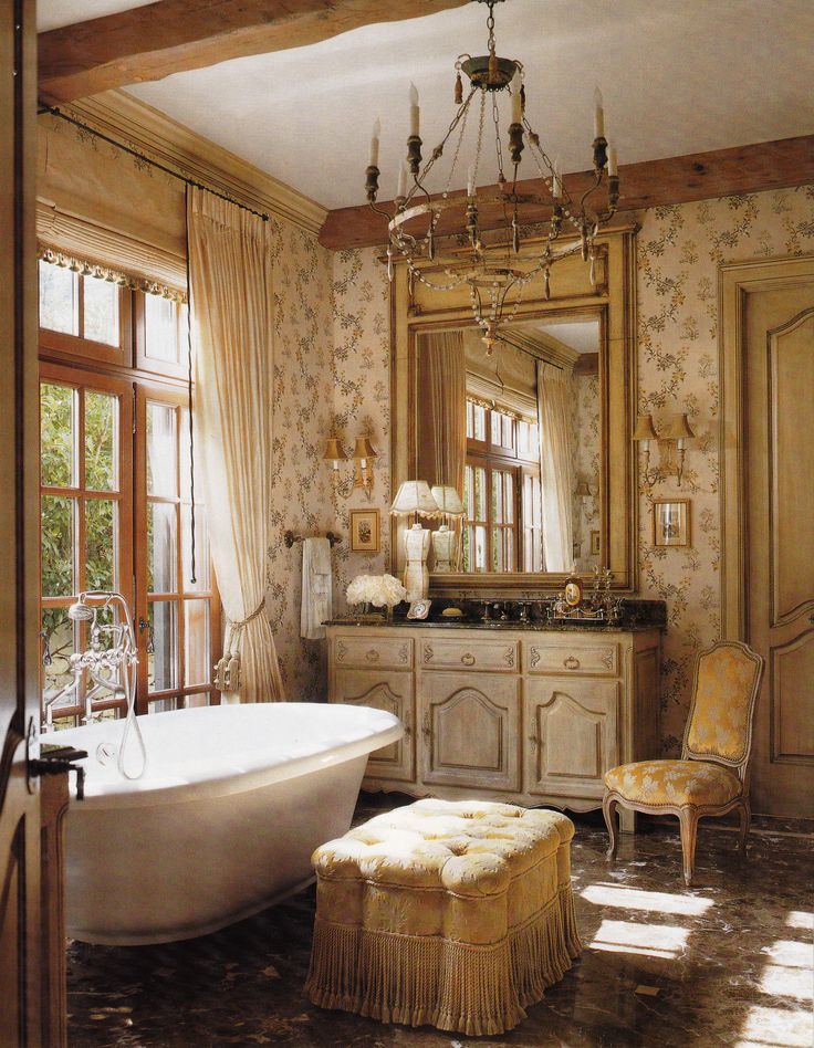 French Country Bathroom Design Hgtv Pictures Ideas: Eye For Design: How To Create A French Bathroom