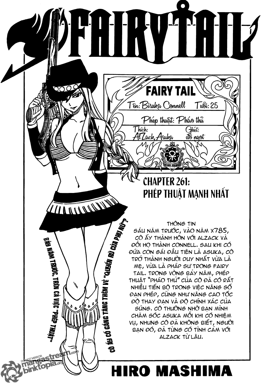 Fairy Tail chap 261 trang 1