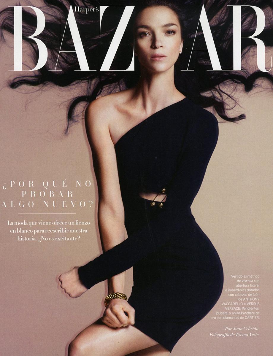 71d364de2 39 Lolas: Mariacarla Boscono by Txema Yeste for Harper's Bazaar ...