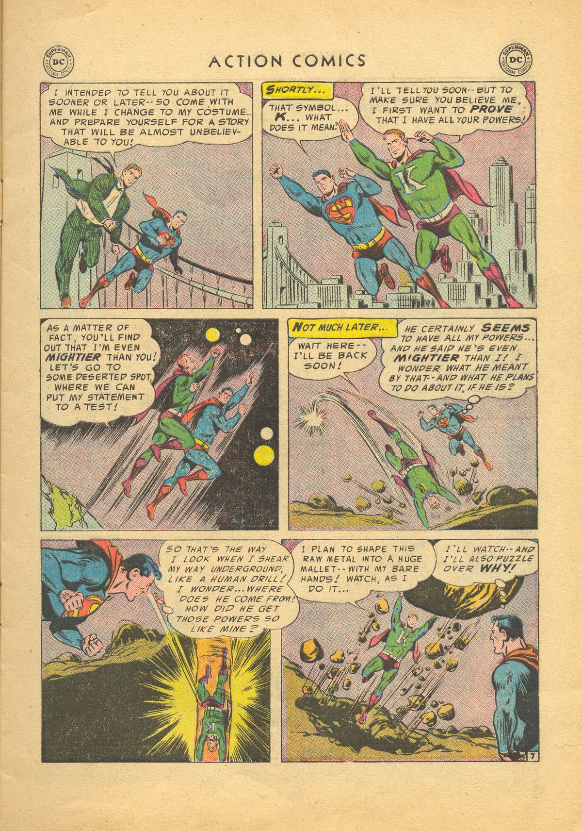 Read online Action Comics (1938) comic -  Issue #209 - 9